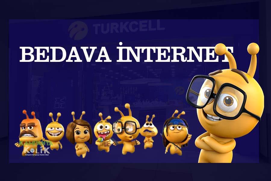 Turkcell 5gb bedava internet
