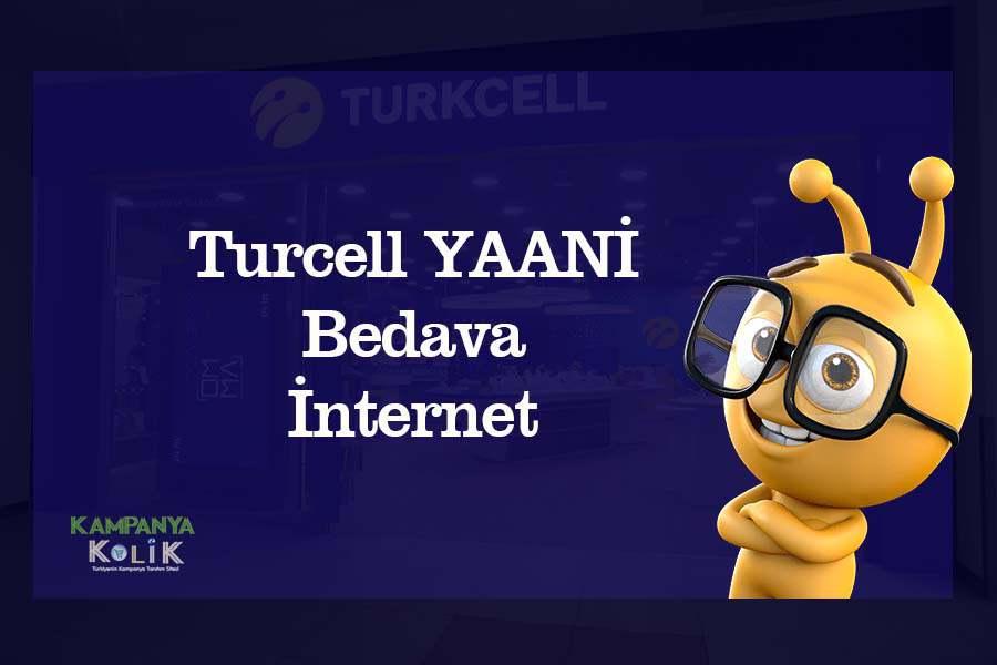Turkcell yani bedava internet veren uygulama