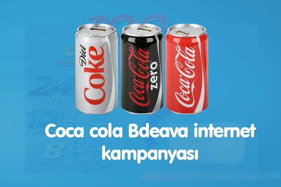 coca cola bedava internet