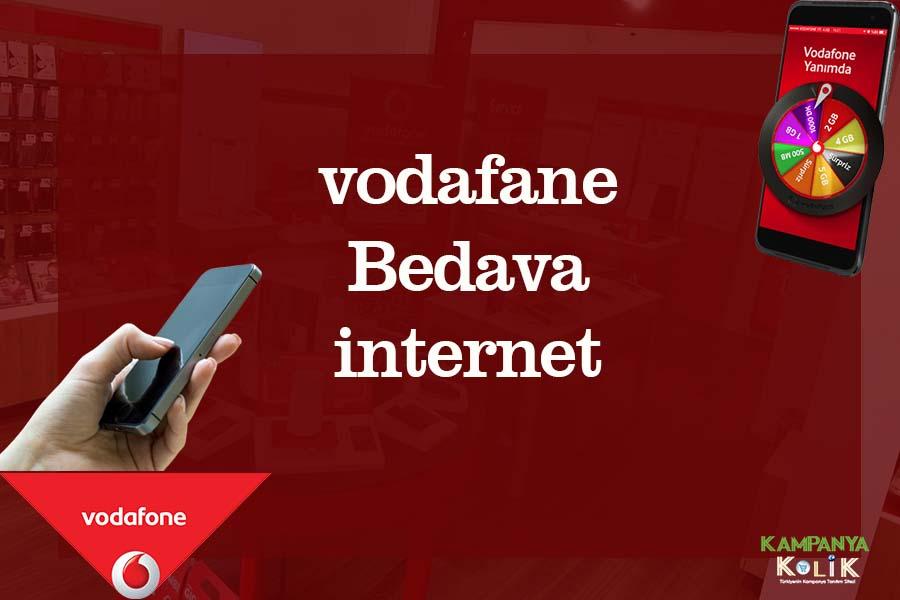 vodafone bedava internet kampanyaları