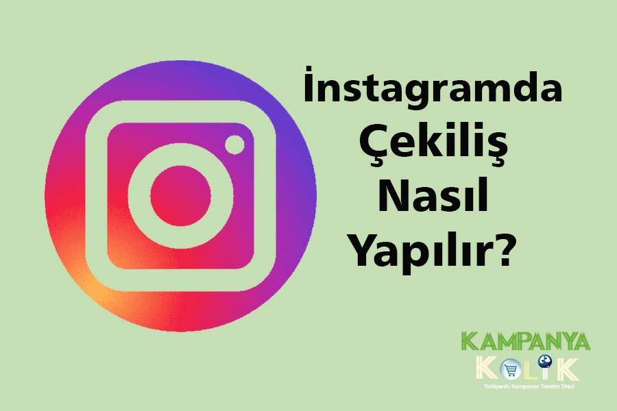 instagram çekiliş