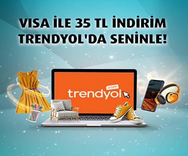 trendyol visa indirim kampanyası