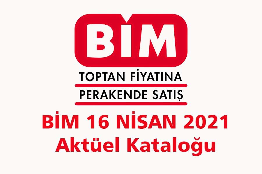 Bim 16 nisan 2021
