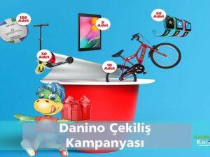 Danino çekilişi bisiklet tablet ödülü