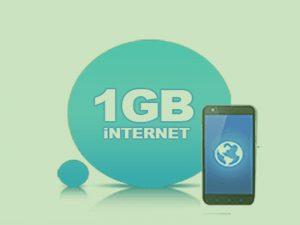 1 GB Hediye internet