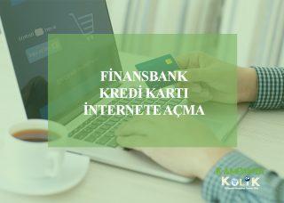 Finansbank internet alışverişine açma
