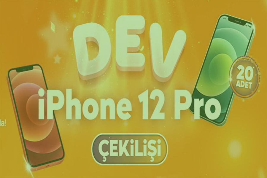 2021 Hepsiburada iphone 12 çekiliş kampanyası