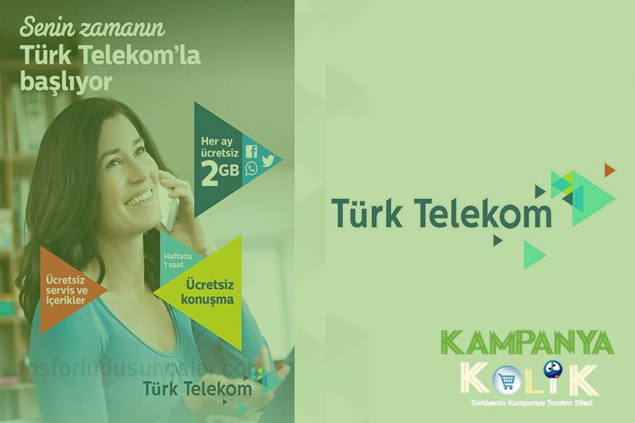 turk telekom kadinlara bedava internet hilesi