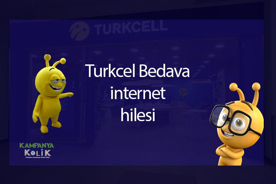 Turkcell Bedava İnternet Hilesi 2021