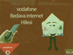 vodafone bedava internet hilesi