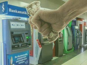ATM Paramı yuttu 2021