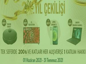 Antalya Migros AVM Çekiliş