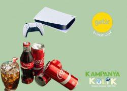 Getir Coca Cola çekilişi