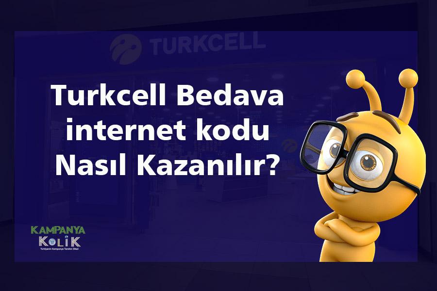 Turkcell Bedava internet Kodu