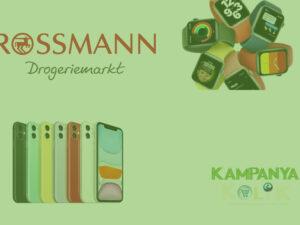 Rossmann iphone 11 Çekiliş