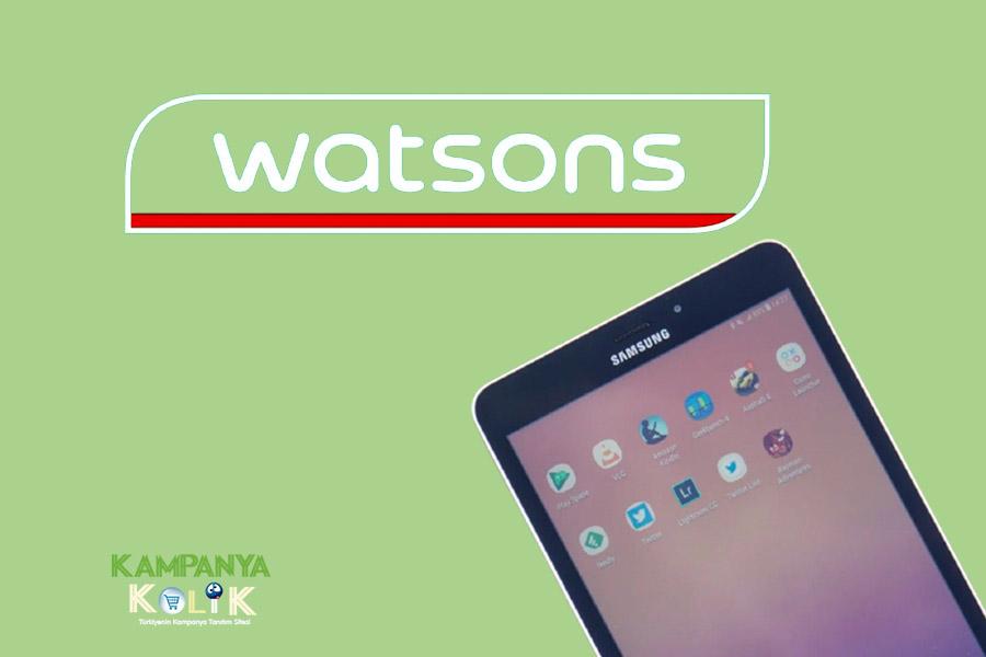 Watsons XO Çekilişi